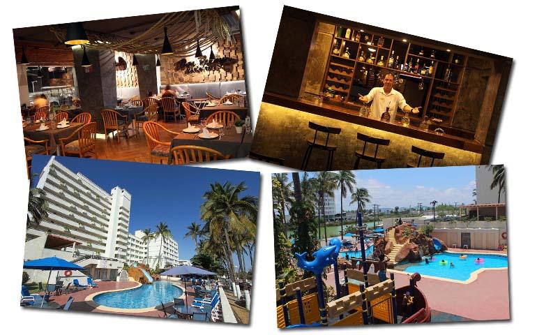 servicios de hotel donpelayo mazatlan